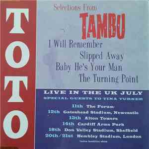 Toto - Selections From Tambu album mp3