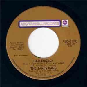 James Gang - Had Enough album mp3