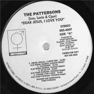 The Pattersons  - Dear Jesus, I Love You album mp3