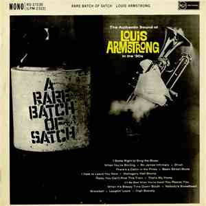 Louis Armstrong And His Orchestra - A Rare Batch Of Satch album mp3