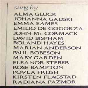 Various - When I Have Sung My Songs (The American Art Song 1900-1940) album mp3