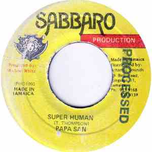 Papa San - Super Human album mp3