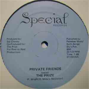 The Prize - Private Friends album mp3