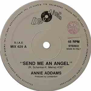 Annie Addams - Send Me An Angel album mp3