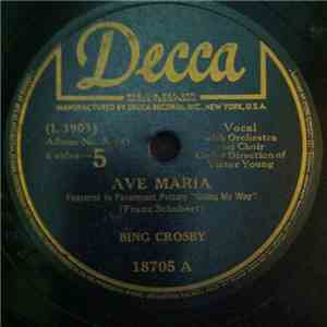Bing Crosby - Ave Maria / Home Sweet Home album mp3