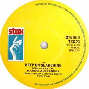 Margie Alexander - Keep On Searching / Love Slave album mp3
