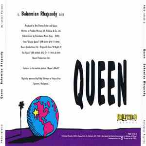 Queen - Bohemian Rhapsody album mp3