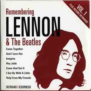 Various - Remembering Lennon & The Beatles Vol. 1 album mp3