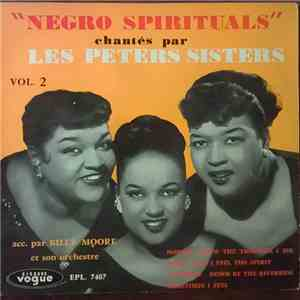 "Peters Sisters - ""Negro Spirituals"" Vol 2 album mp3"