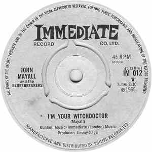 John Mayall And The Bluesbreakers - I'm Your Witchdoctor album mp3