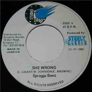 Spragga Benz - She Wrong album mp3