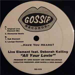 Live Element - All Your Lovin' album mp3