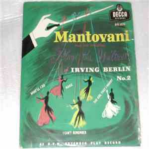 Mantovani And His Orchestra - Mantovani Plays The Waltzes Of Irving Berlin No.2 album mp3