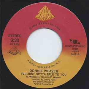 Donnie Weaver - I've Just Gotta Talk To You album mp3