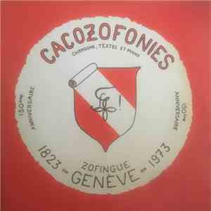 Section Genevoise De Zofingue - Cacozofonies album mp3